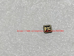 Image 3 - New Label Nameplate D750 LOGO +FX Rubber For Nikon D750 Camera Part