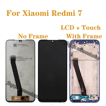 6.26 original LCD with frame For Xiaomi redmi 7 LCD display touch screen digitizer Assembly for Redmi7 display repair parts for myphone hammer energy lcd display touch screen original lcd glass digitizer assembly repair parts