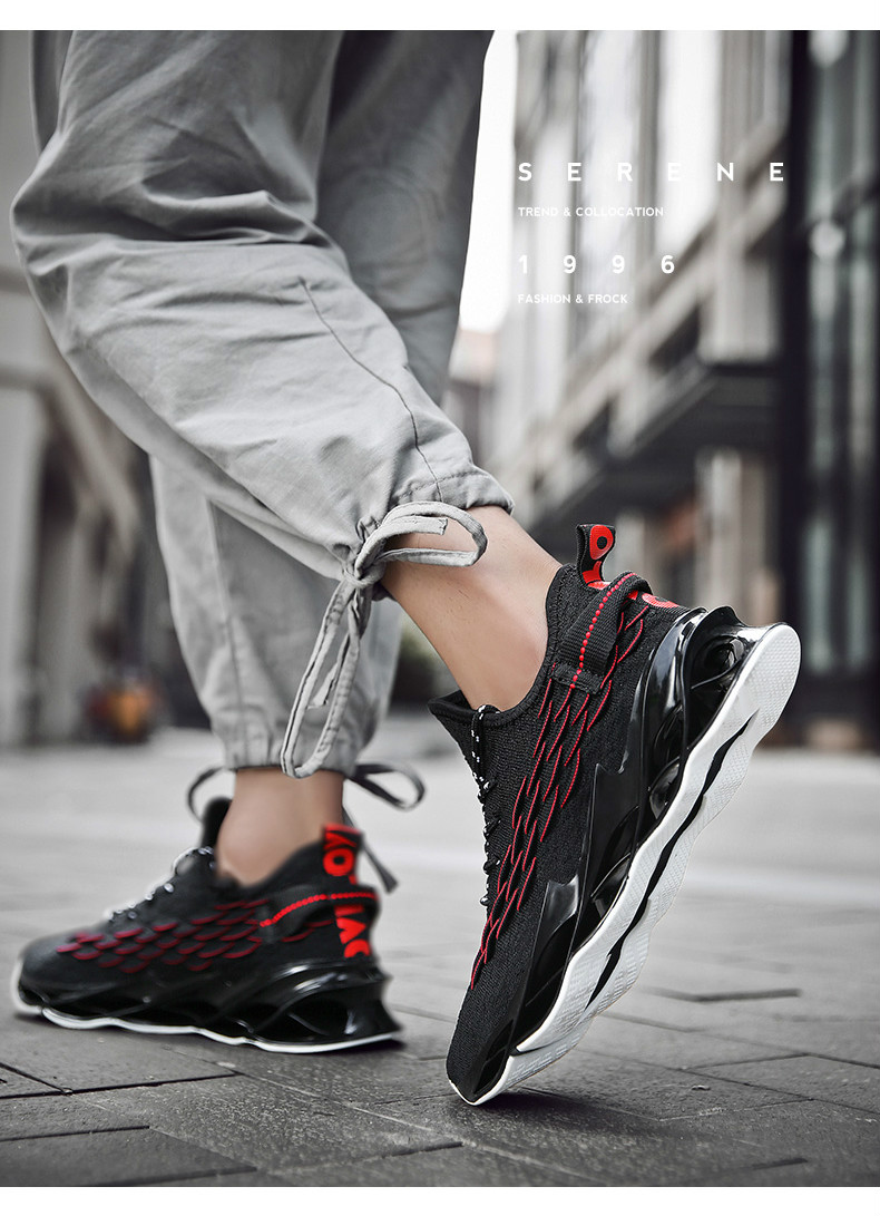 Hf886678778654fd69784f9000fb43413f - New Outdoor Men Free Running for Men Jogging Walking Sports Shoes High-quality Lace-up Athietic Breathable Blade Sneakers