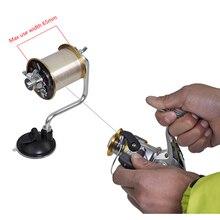 1 pièces De Pêche Ligne Enrouleur Ligne Spooler Bobinage Bobinage Système S'attaquer Outils Pesca Ventouse Mer Carpe Accessoires De Pêche