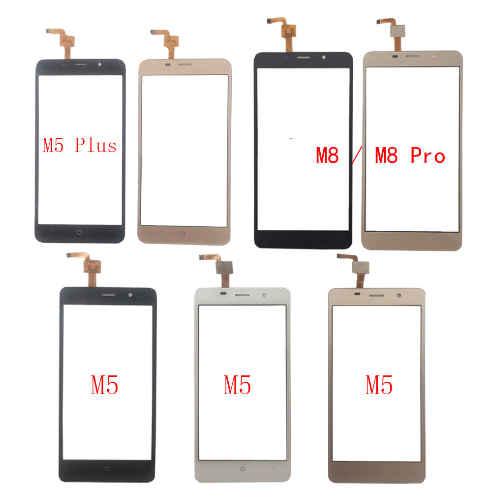 Touch Screen Digitizer Panel For <font><b>Leagoo</b></font> M5 M5 Plus <font><b>M8</b></font> <font><b>M8</b></font> <font><b>Pro</b></font> Touch Screen Front Glass Sensor TouchScreen 3M Glue image
