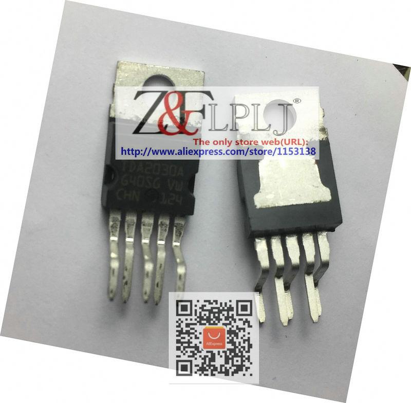 5pcs 10pcs TDA2030AV NEW ORIGINAL ST Hi-Fi AMP IC TDA2030A