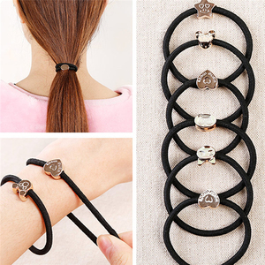 Girls Rubber Bands Elastic Hair Bands Ponytail Holder Hair Accessories Headband Decorations Hair Braid Hair Rope Women Wholesale