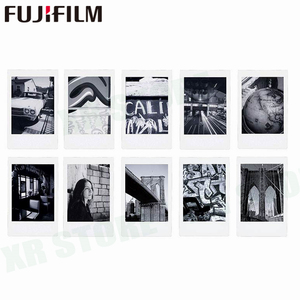 Image 3 - 10 sheets Fuji Fujifilm instax mini 11 9 8 white Edge films Colour Fims for instax camera MONOCHROME Rainbow Macaron cartoon