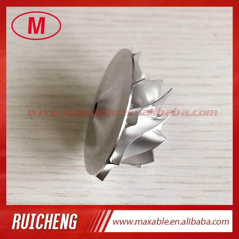 GT15-25 735492-0002J 36,30/49,00 мм 11+ 0 лезвия высокая производительность турбо заготовка/Фрезерование/алюминий 2618 компрессорное колесо