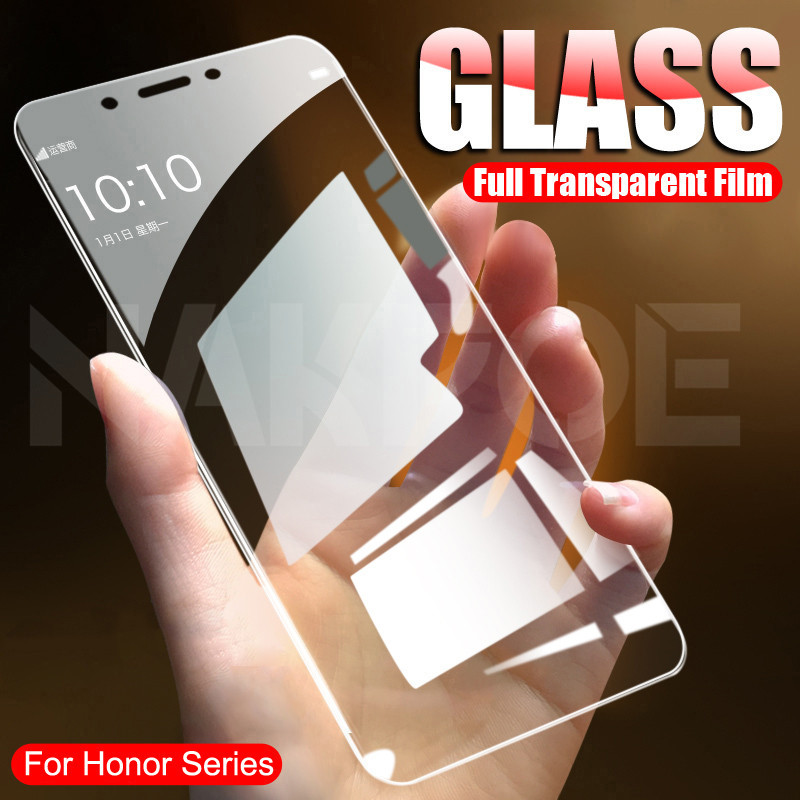 9H Tempered Glass For Huawei Honor 7A 7C 7X 7S Screen Protector Glass Honor 9X 8X 8A 8C 8S 8 Lite Safety Protective Glass Film(China)