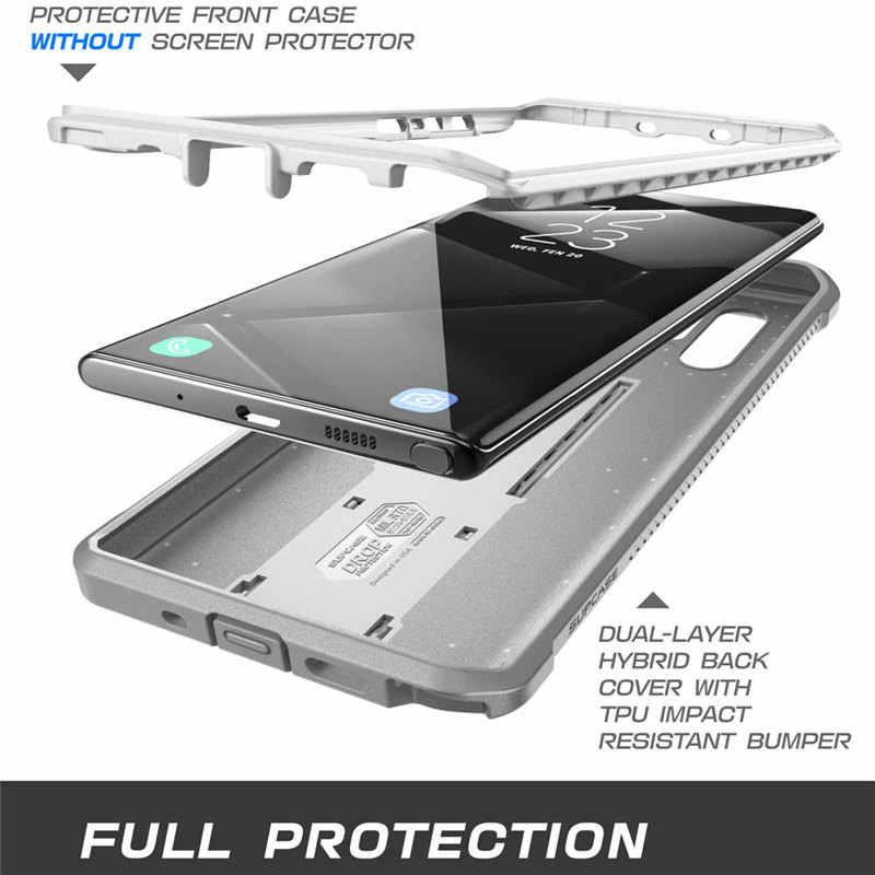 Do Samsung Galaxy Note 10Plus skrzynki pokrywa (2019) SUPCASE UB Pro całego ciała wytrzymała kabura pokrywa bez wbudowana osłona ekranu