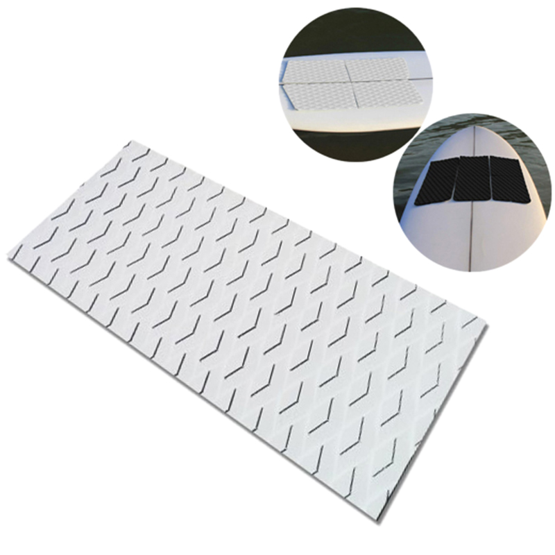Surfboard Deck Traction Board Eva Anti-Skid Pad Adhesive Anti-Skid Deck Pad For Boat Deck,Kayaking,Surfboard,Vertical Paddle Boa