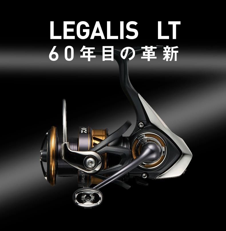 Daiwa legalis lt copo de linha média copo profundo baixa velocidade roda fiação pesca reel2000d 2500 3000d-c 4000d-c 3000c 4000c 5000d-c 6000d