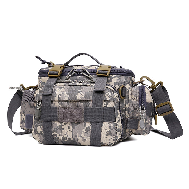 Manufacturers Supply Outdoor Casual Haversack Tactical Picnic Casual Shoulder Bag Mountain Climbing Hiking Travel Fishing Bag