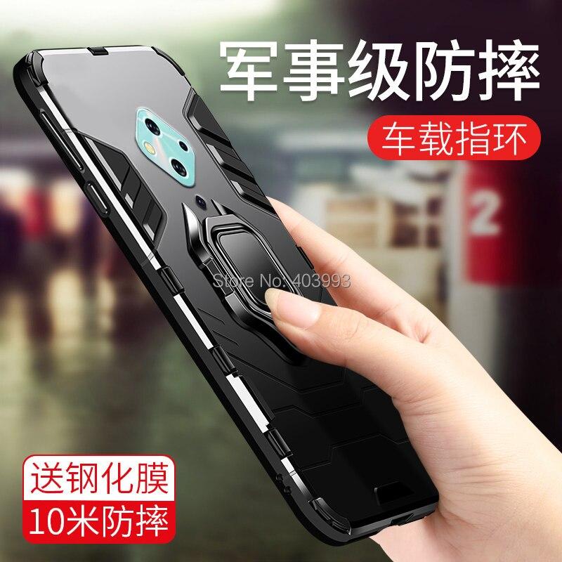 For Vivo V17 Case Armor PC Cover Finger Ring Holder Phone Case For Vivo V17 Case Animal Coque For Vivov17 2019 V1945A Y9S