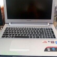 Силиконовый чехол для клавиатуры для lenovo 15,6 дюймов Y50-70 G50-80 Z500 B590 G510 G580 Y510P Y50 G50 Y570 Z580 Z560 B580 V580