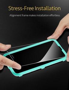Image 5 - IPhone XR 5X 용 ESR 강화 유리 iPhone XS 용 강력한 화면 보호 필름 iPhone XS Max 용 견고한 보호 유리 커버