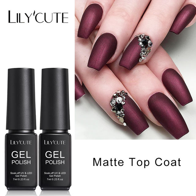LILYCUTE Matte UV Nail Gel