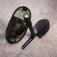 Многофункциональная Военная Портативная Складная Походная Лопата лопатка для выживания лопатка Dibble pick аварийный садовый открытый инструм...