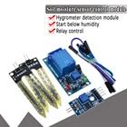 Smart Electronics 3.3V 5V 12V Soil Moisture Hygrometer Detection Humidity Sensor Module For arduino Development Board
