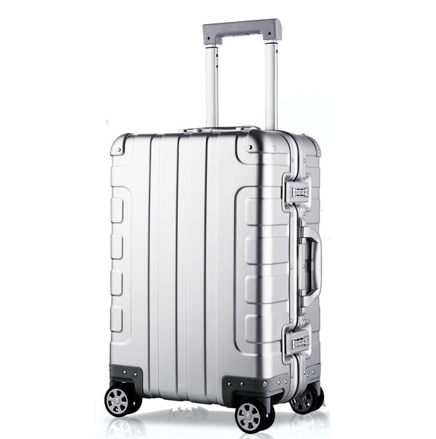 Aluminum Alloy Suitcase On Wheels