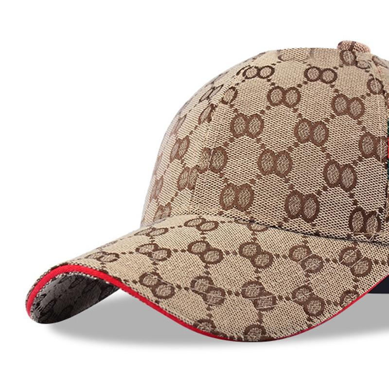 Brand Design Popular Hat Man's Hat OO Grid Tricolor Stripes Multicolor Optional Cotton Can Be Adjusted Czapka Z Daszkiem Unisex