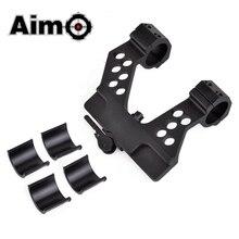 цена на Aim-O Tactical Scope Mount AK 25.4mm-30mm Scope Side Base Fit 20mm Picatinny Rail Hunting Riflescope AO9022 Optics Scope