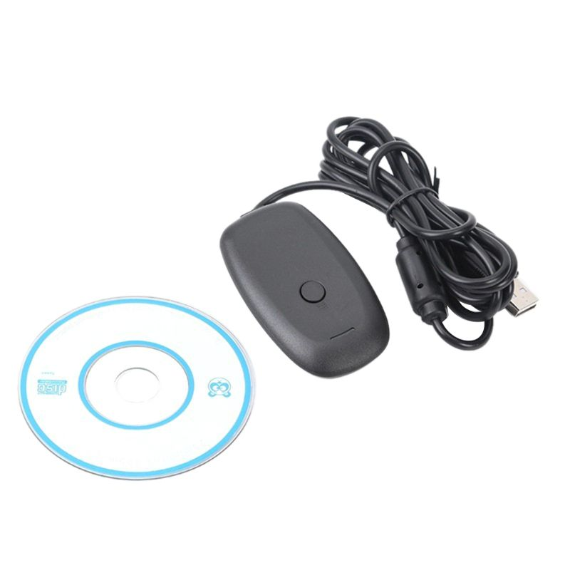 For <font><b>Xbox</b></font> <font><b>360</b></font> <font><b>Wireless</b></font> Gamepad <font><b>PC</b></font> <font><b>Adapter</b></font> USB Receiver Supports Win7/8/10 System For -Microsoft -Xbox360 <font><b>Controller</b></font> Console image