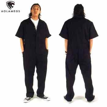 Men hip hop dancing coverall jumpsuit dancer hiphop pants 2016 summer fashion short-sleeve one piece overalls Plus Size S-XXXL - DISCOUNT ITEM  40% OFF All Category
