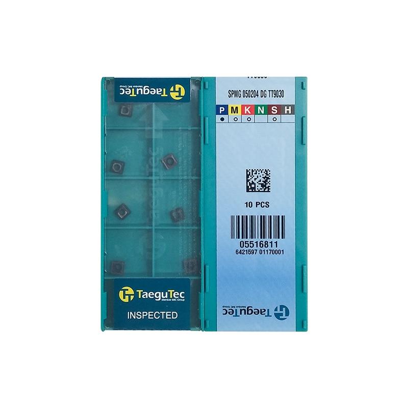 SPMG050204-DG TT9030 100% Original TAEGUTEC Carbide Insert With The Best Quality 10pcs/lot Free Shipping