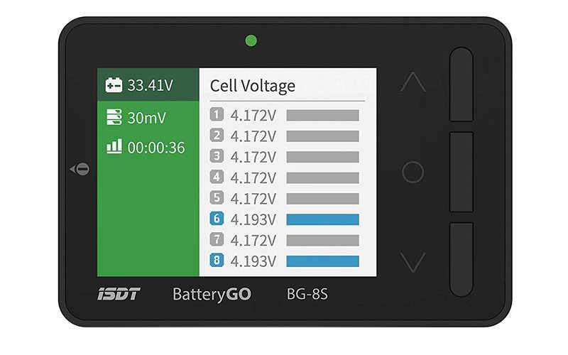 ISDT BattGo BG-8S الذكية بطارية مدقق الموازن استقبال إشارة اختبار سريعة وظيفة المسؤول