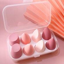 BIIIYI 4pcs makeup tools, eggs, beauty eggs, no powder, super soft puff, makeup, foundation, makeup, sponge tools, wet and dry s