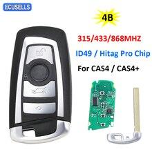 4 taste Remote Auto Schlüssel 315Mhz 433Mhz 868Mhz ID49 Hitag Pro Chip für BMW CAS4 FEM / BDC 5 7 Serie 520 525 530 535 730 740 750
