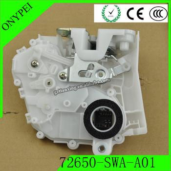 72650 SWA A01 tylny lewy zamek zatrzask siłownika dla Honda CR-V 2007-2011 2 4L 72650-SWA-A01 72650SWAA01 tanie i dobre opinie ONYPEI Front 54 72mm Metal 0 03kg Door Lock Actuator 14 45mm Silver