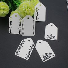 Tags Set Metal Cutting Dies for Craft Scrapbooking DIY Album Embossing Paper Die Cut New 2019 Decor