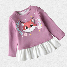 Winter Coat Toddler Baby Kids Boy Girl Clothes Cartoon Fox S