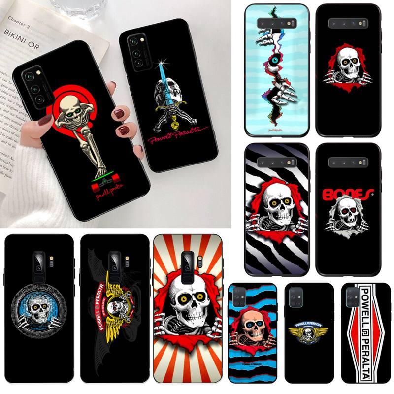 Skateboard Powell Peralta Phone Case for Samsung Galaxy S20 FE plus Ultra S6 S7 edge S8 S9 plus S10 5G lite 2020