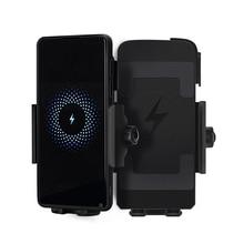 Motorcycle Phone Holder Qi Wireless Charger Motorcycle Charger Mount For Phones Fast Wireless Charge Moto Accessories cablexpert переходник hdmi hdmi 19f 19m угловой соединитель 90 градусов золотые разъемы a hdmi90 fml