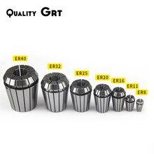 Quality Grt ER Collet Chuck ER25 ER32 0.008 For CNC Milling Tool Holder Engraving Machine Lathe Mill Spring Chuck CNC COLLET ER