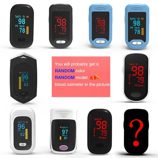 Medical Digital Pulse Oximeter LED Oximetro blood oxygen Heart Rate Monitor SpO2 Health Monitors Oximetro De Dedo 5