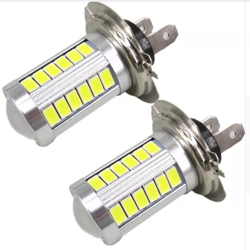 2PCs LED Light 33SMD H4 H7 H11 9005 9006 Auto Led Car Fog Lamp Daytime Running Lights Clearance Bulb DC12V Turning Parking Bulbs