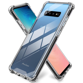 Ultra Thin Case For Samsung Galaxy S10 S9 S8 S7 S7 Edge S6 S8/S9/S10 Plus Note 10 9 Note 10 Plus Clear TPU Cover for Galaxy S10 image