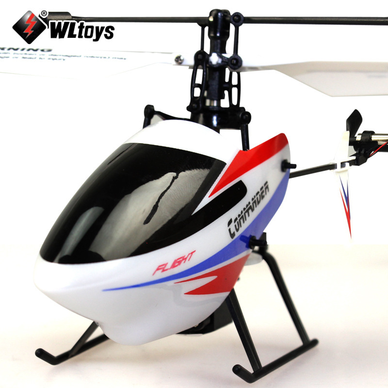Weili V911-2 Upgraded Four-Channel Stand-up Helicopter Remote Control Aircraft Non-Aileron Unmanned Aerial Vehicle Model Airplan