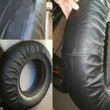 Válvula de roda de pneu de reposição do plutônio do pvc capa para carros rodas acessórios preto puro 14