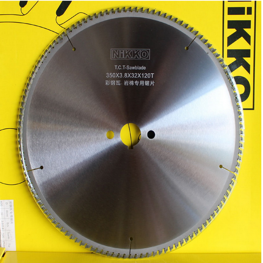 Free Shipping High Quality 250*3.0*32*100Z Tct Saw Blades For Sawing Thin Iron Core Materials As Color Steel Tile Rock Wool