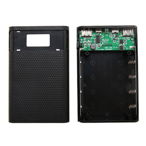 Image 3 - Cargador de batería de 15000mAh para móvil, 4x caja de almacenamiento de la batería 18650, con USB, tipo C, Micro USB, sin batería