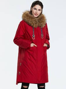 Astrid 2019 Зима новое поступление пуховик женский с меховым воротником верхняя одежда высокое качество длинные и модные теплые женские зимняя ...