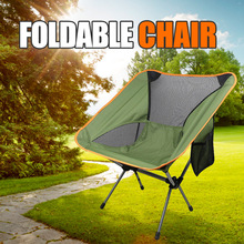 Folding Chair Fishing-Tools Outdoor Picnic Seat Ultralight Travel Hiking High-Load Portable