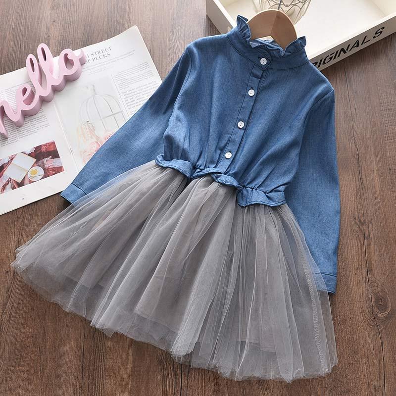 vestidos de festa casual jean fio princesa 02