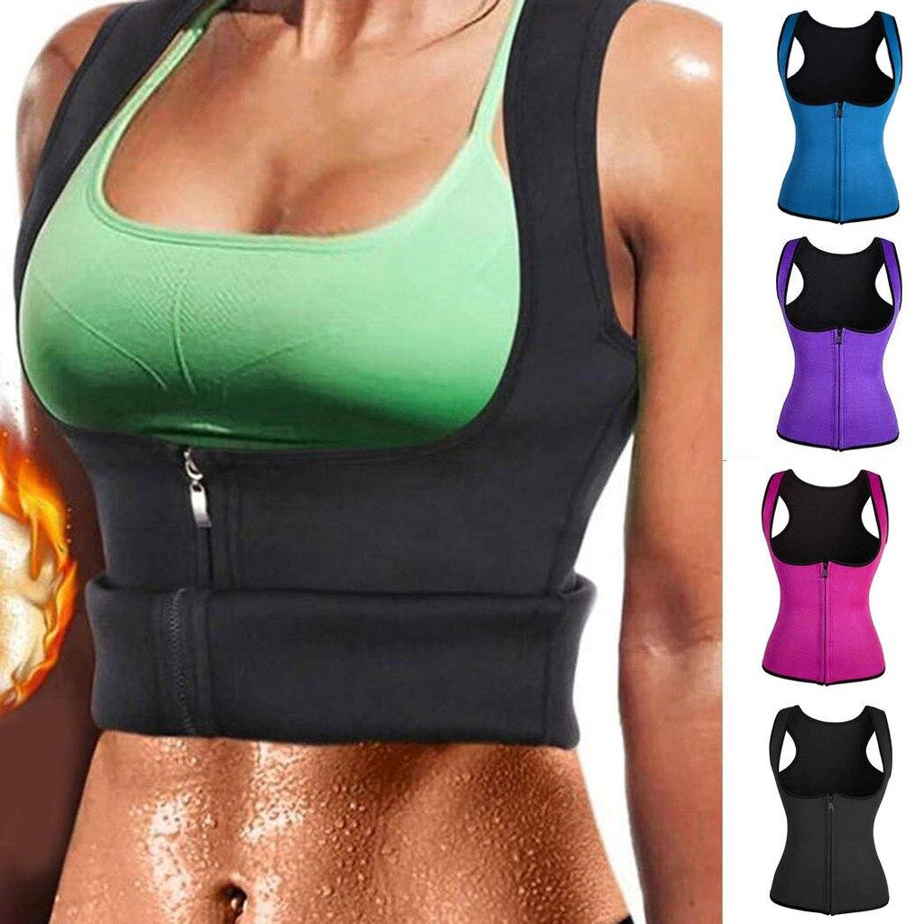 Women Waist Trainer Push Up Vest Tummy Belly Girdle Body Shaper Waist Cincher Corset Vest Plus Size S-3XL Shaperwear GRS
