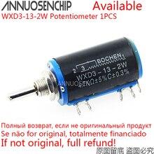 WXD3-13-2W проволочный потенциометр сопротивление 100R 470R 1K 4,7 K 6,8 K 10K 22K 47K 100K Ом Линейный роторный потенциометр WXD3 13 2 Вт