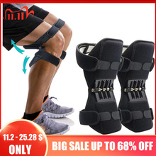 New Joint Support Knee Pads Powerful Rebound Spring Force Adjustable Bi Directional Straps for Joint Pain Relief