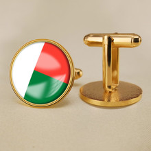 Madagascar Flag Cufflinks