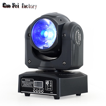 mini led moving head beam 60w dj spot light DMX 512 Stage Light For disoc patry Show